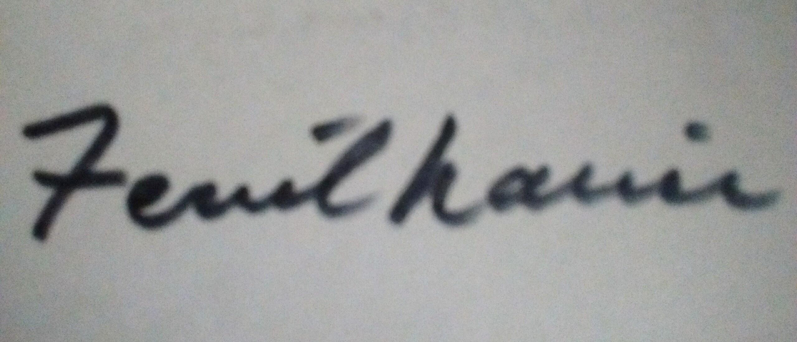 Ferril Nawir Signature