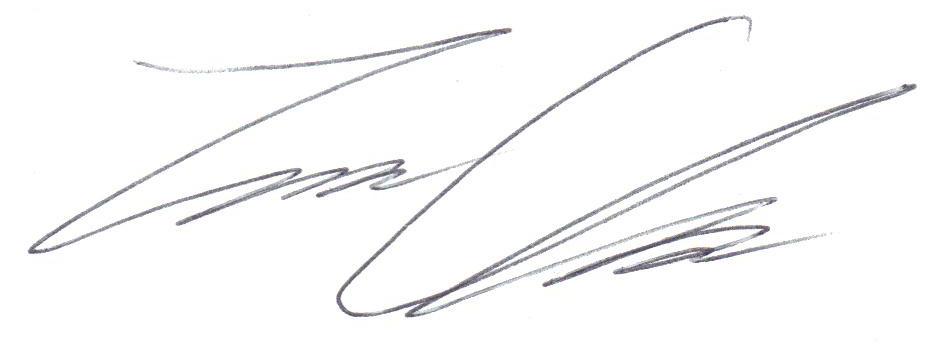 Travis  Clark Signature