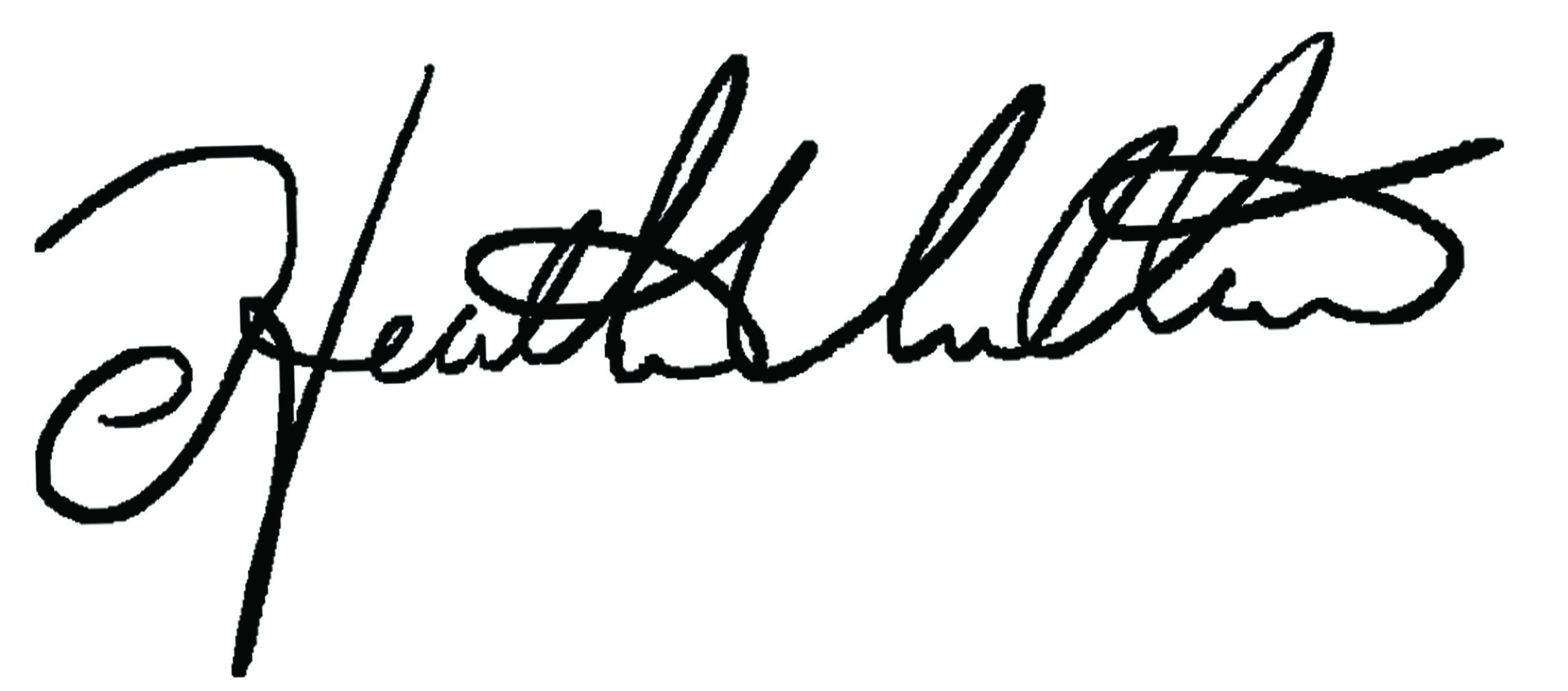 Heather Villari Signature