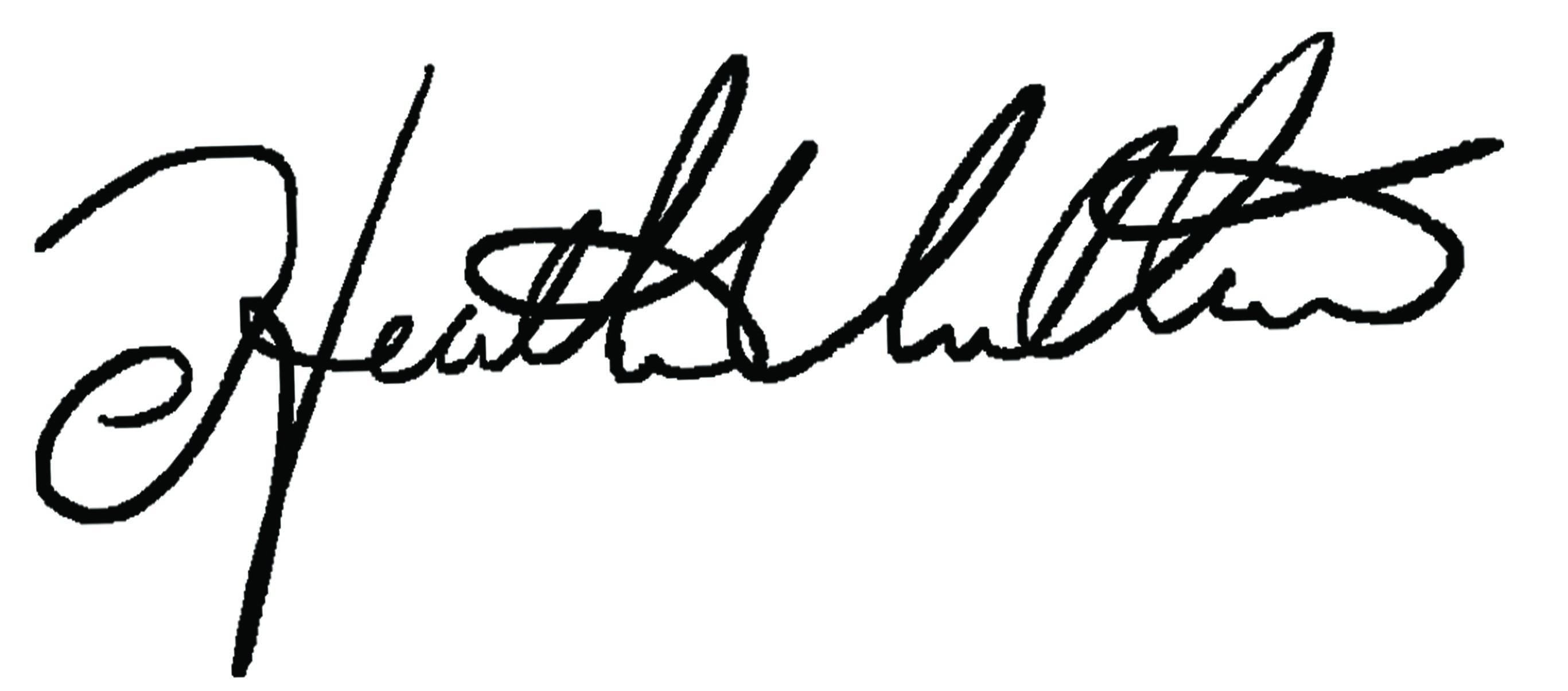 Heather Villari Signature