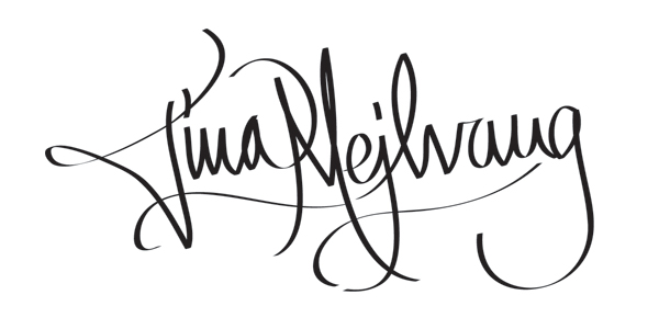 Tina Mejlvang Signature