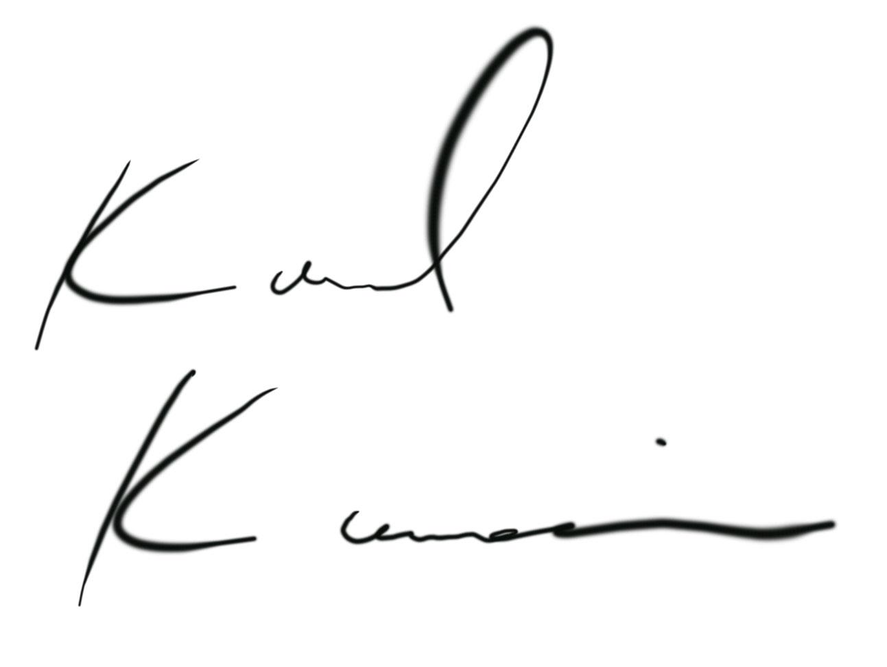 Karl Kanai Signature