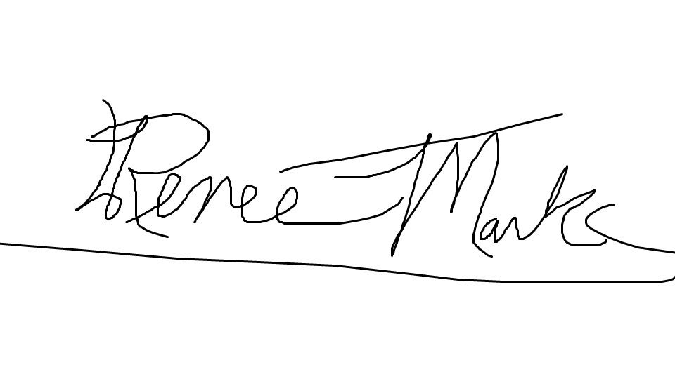 Renee Marks Signature