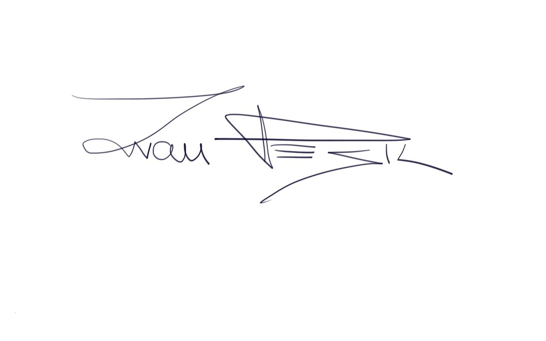 Ivan Pesic Signature