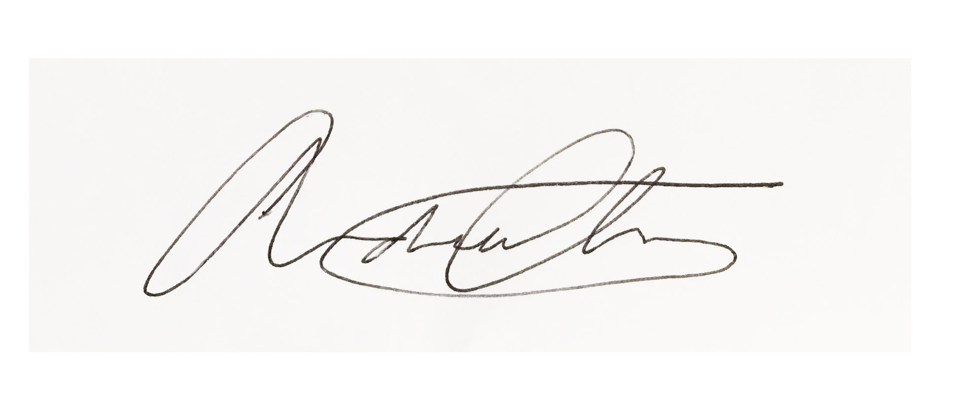 Andrew Chan Signature