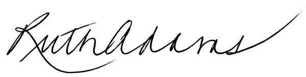 Ruth Adams Signature