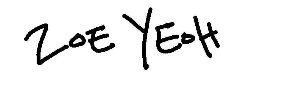 Zoe Yeoh Signature