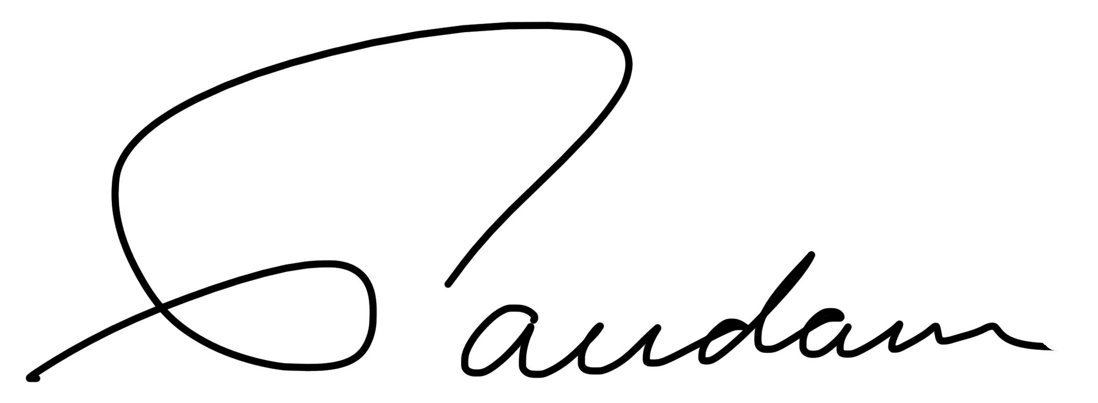 Mike Gaudaur Signature