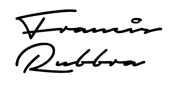Francis Rubbra Signature