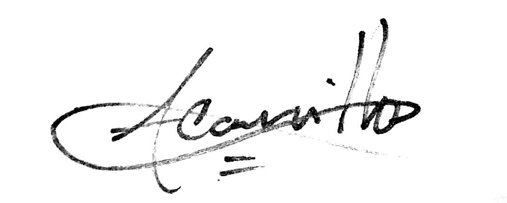Angel Carrillo Signature