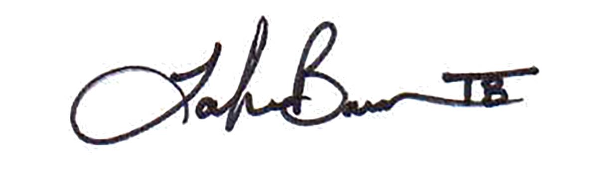 Tamika Barrow Signature