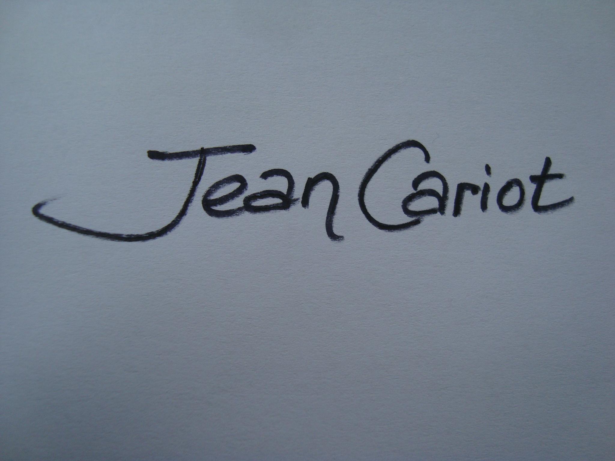 Jean Cariot Signature