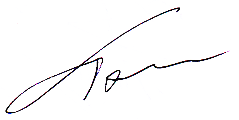 Thomas Hartley Signature