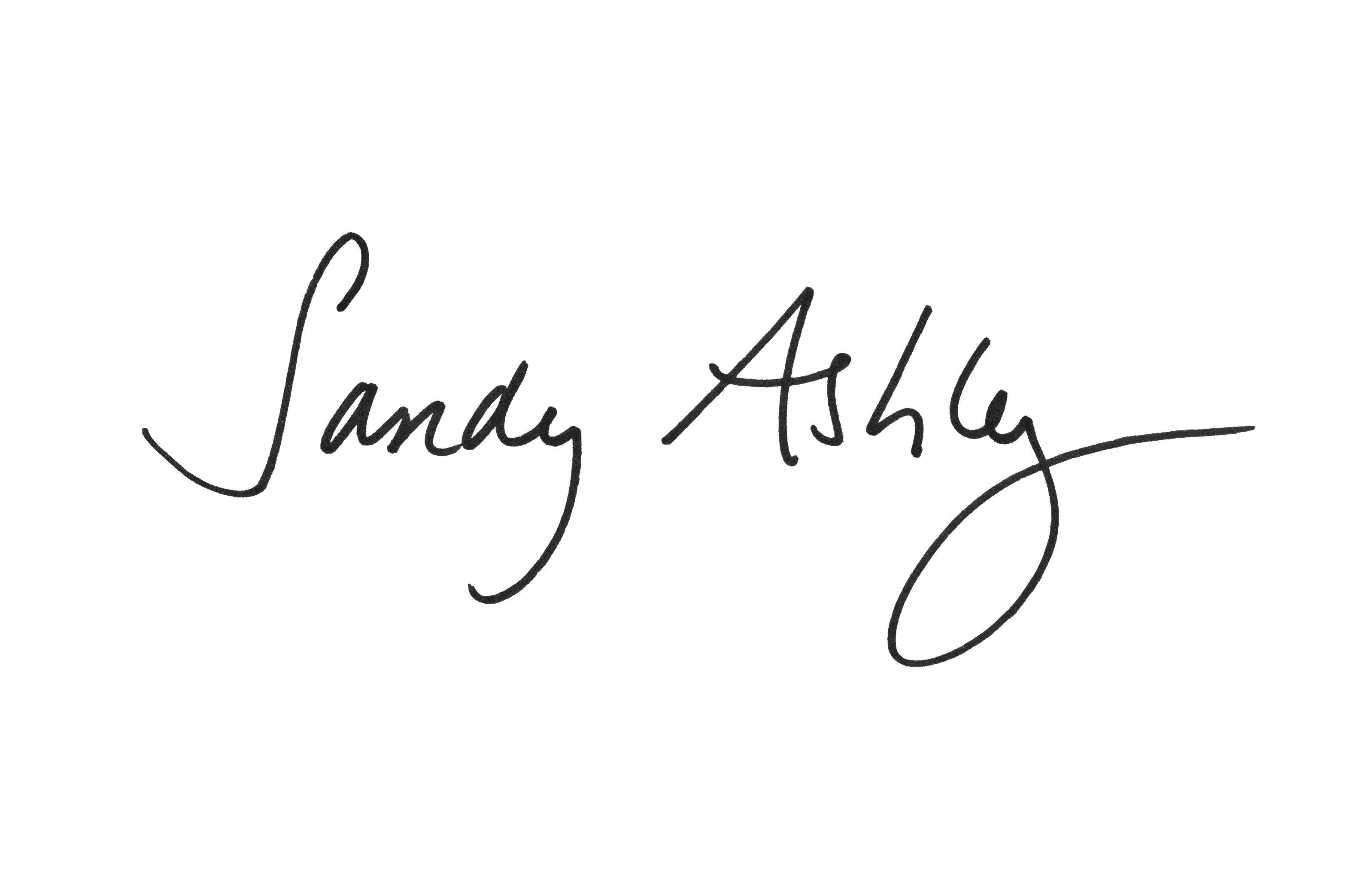 Sandy Ashley Signature