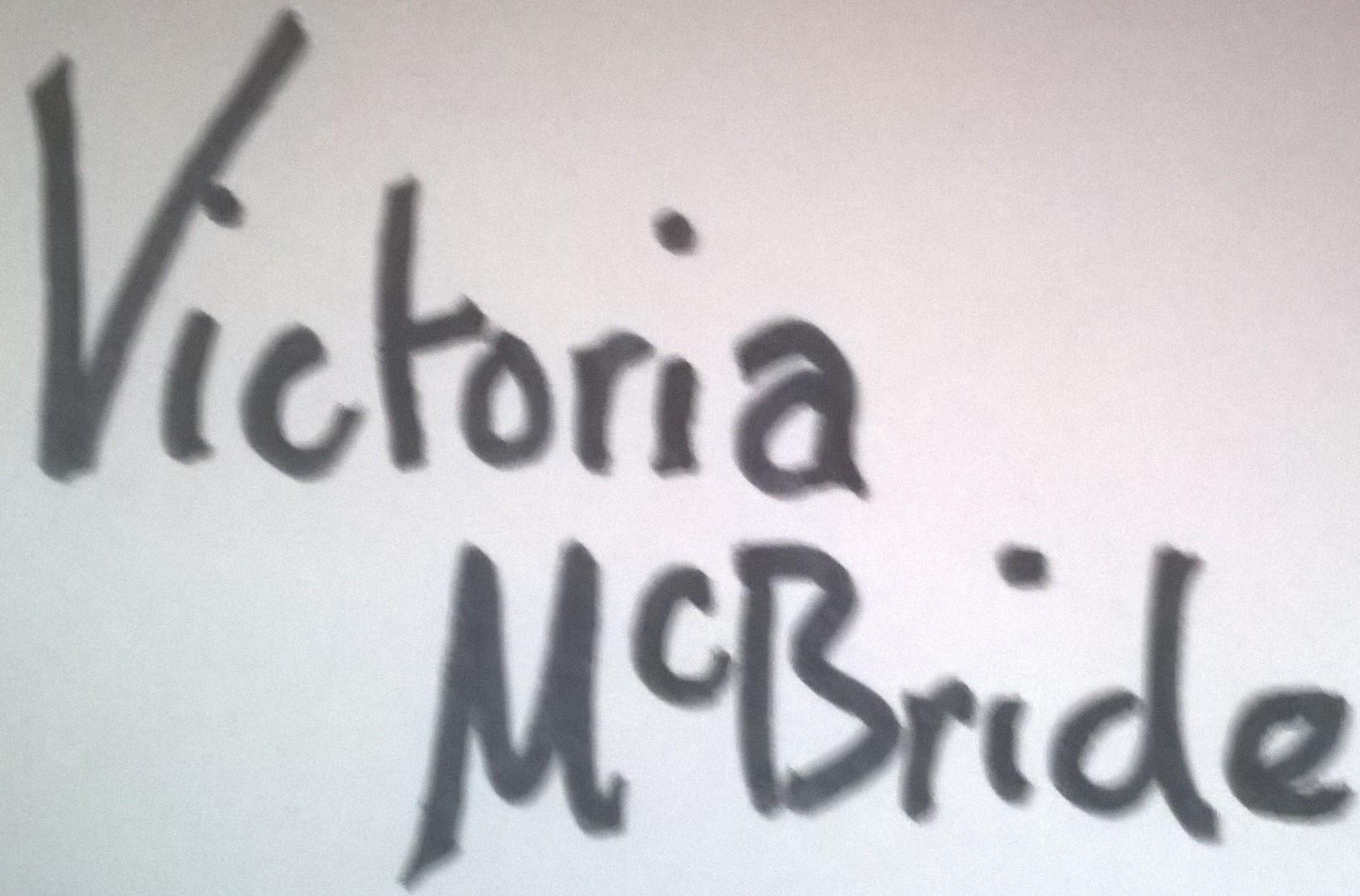 Victoria McBride Signature