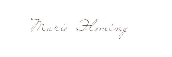 Marie Fleming Signature