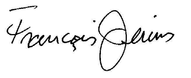Francois jerins Signature
