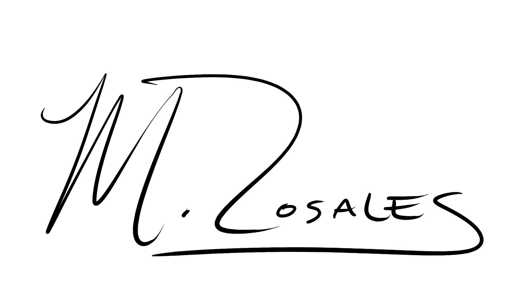 Maya Rosales Signature