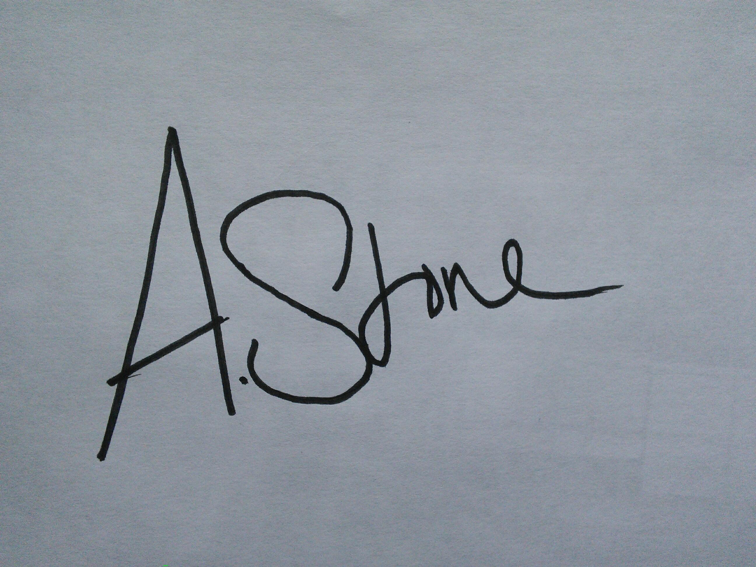 Annabelle Stone Signature