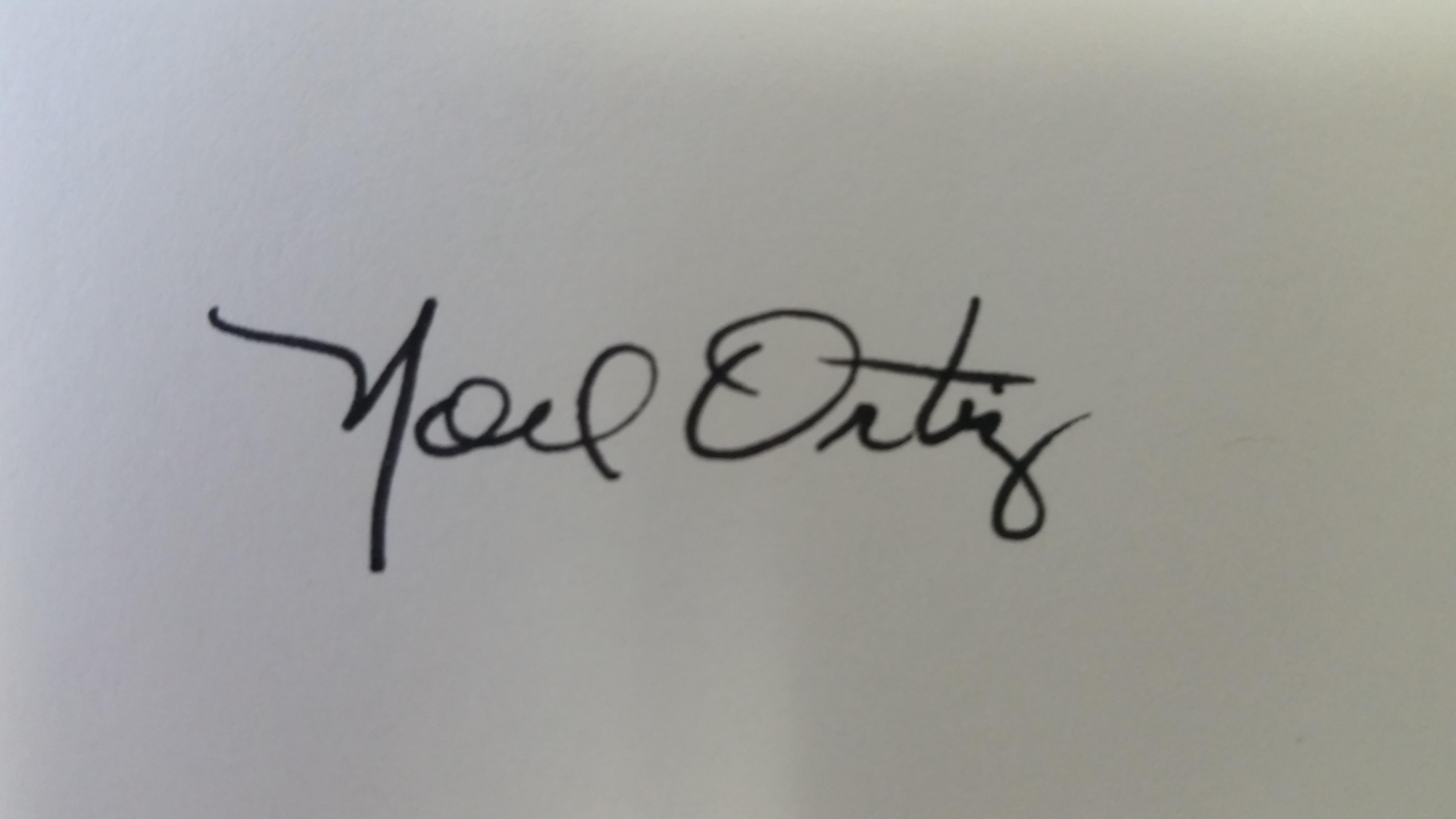 Noel Ortiz Signature