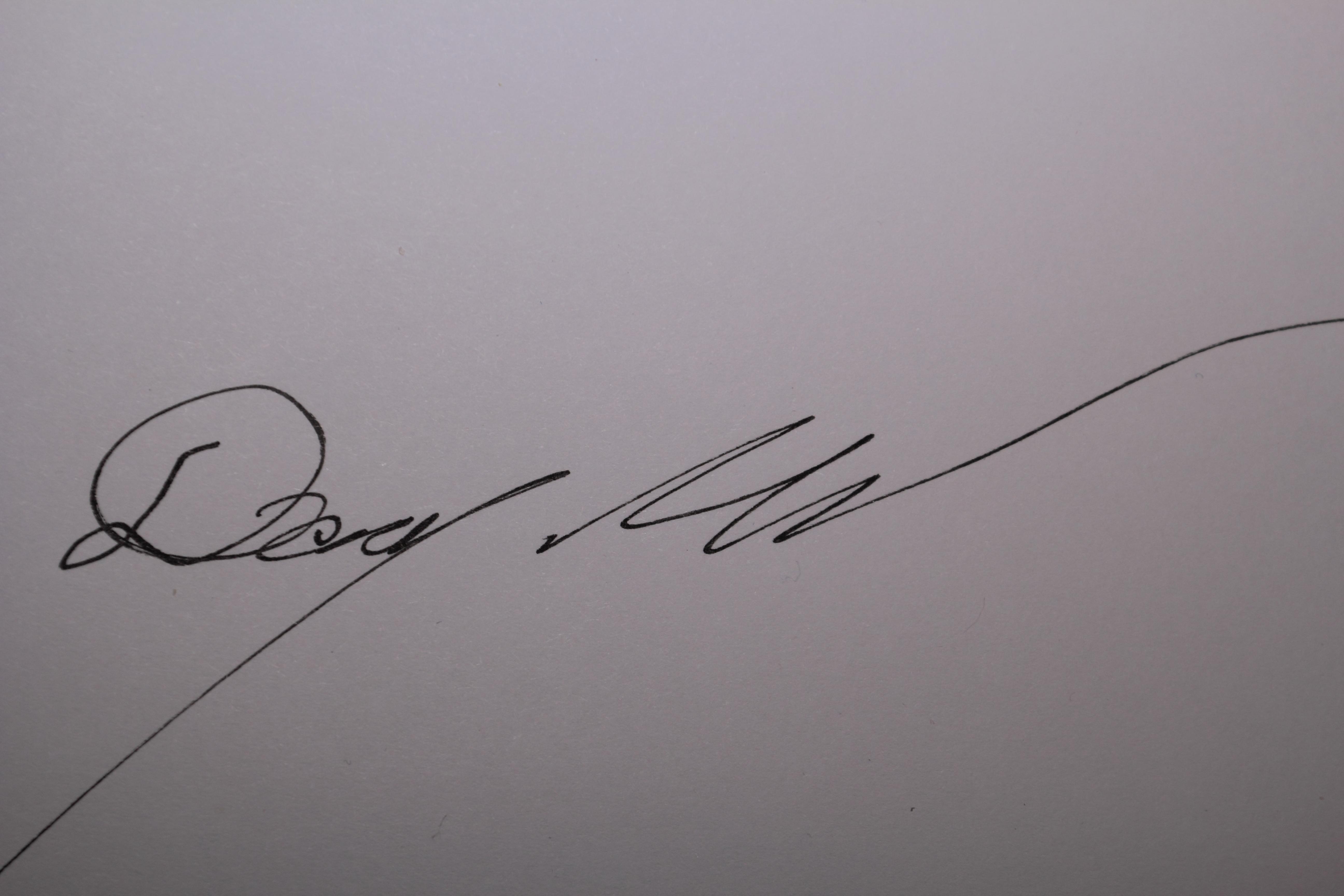 Doug Mills Signature