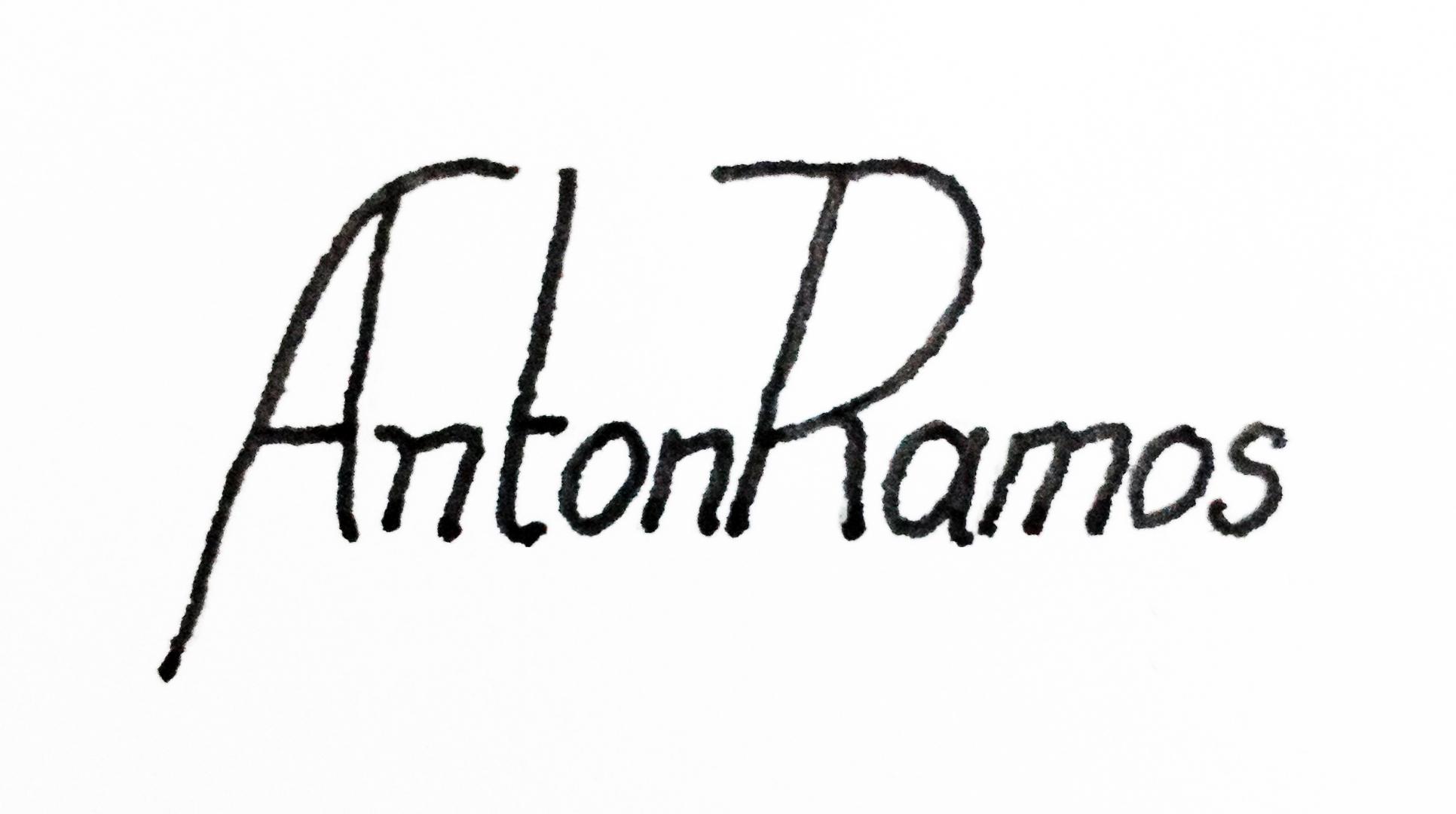 Anton Ramos Signature