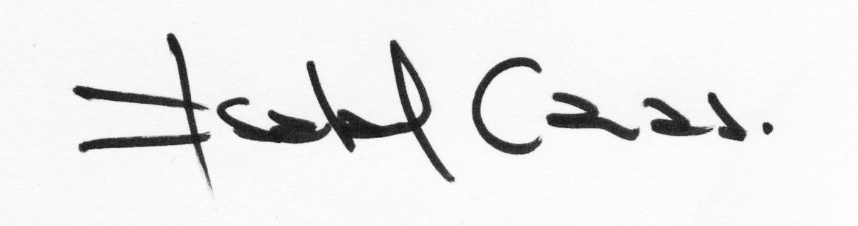 Isabel Cauas Signature