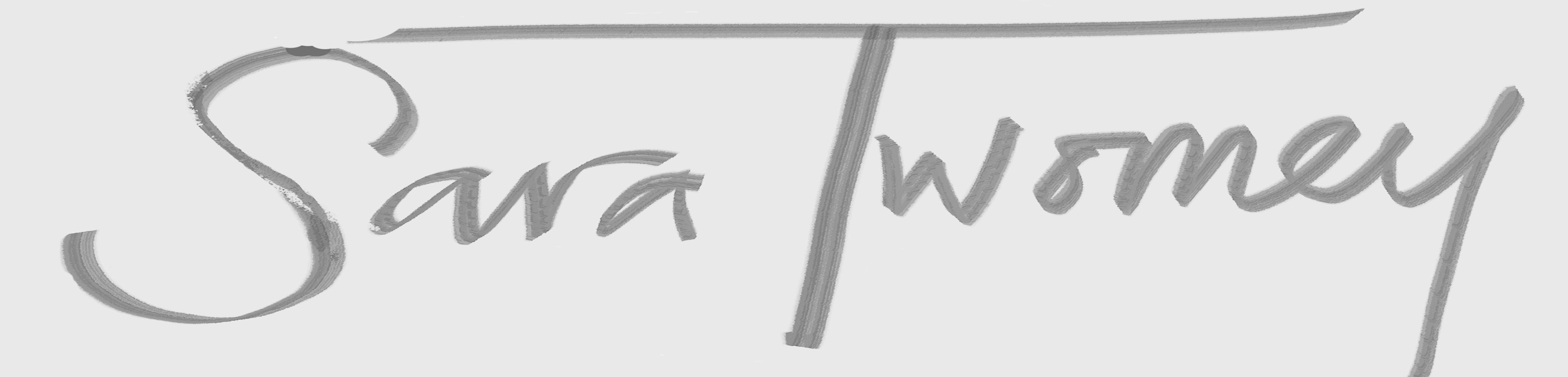 Sara Twomey Signature