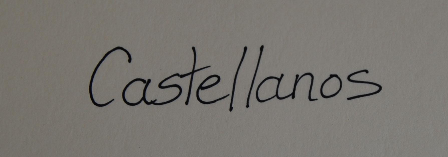 Teresa Castellanos Signature