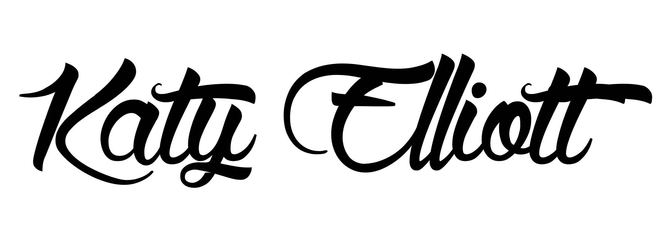 katy elliott Signature