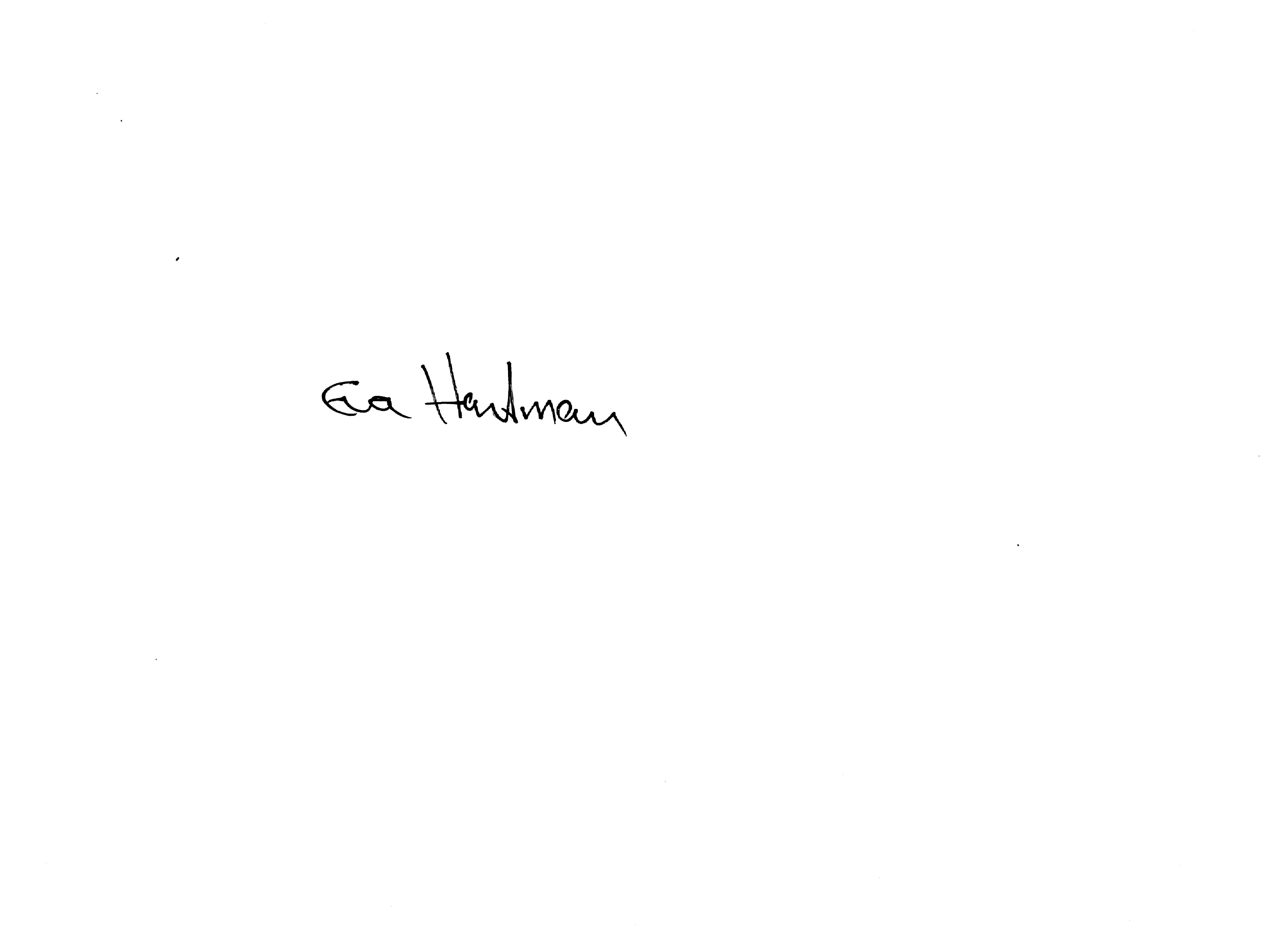 Eva Hartman Signature