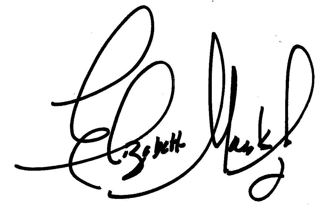 Elizabeth Marks Juviler Signature
