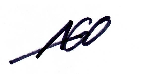 aron gagliardo Signature