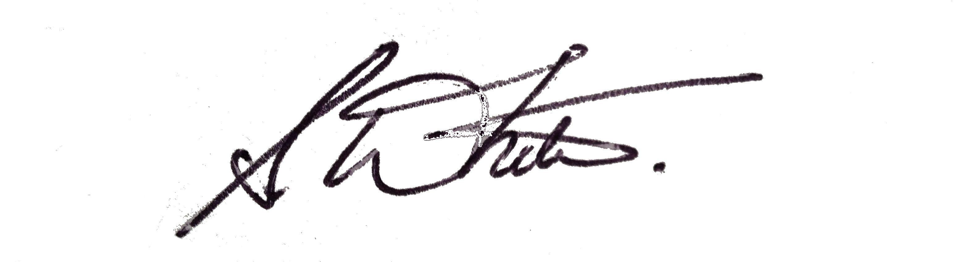 Sarah White Signature