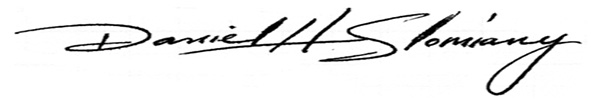 Daniel Slomiany Signature