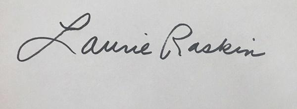Laurie Raskin Signature
