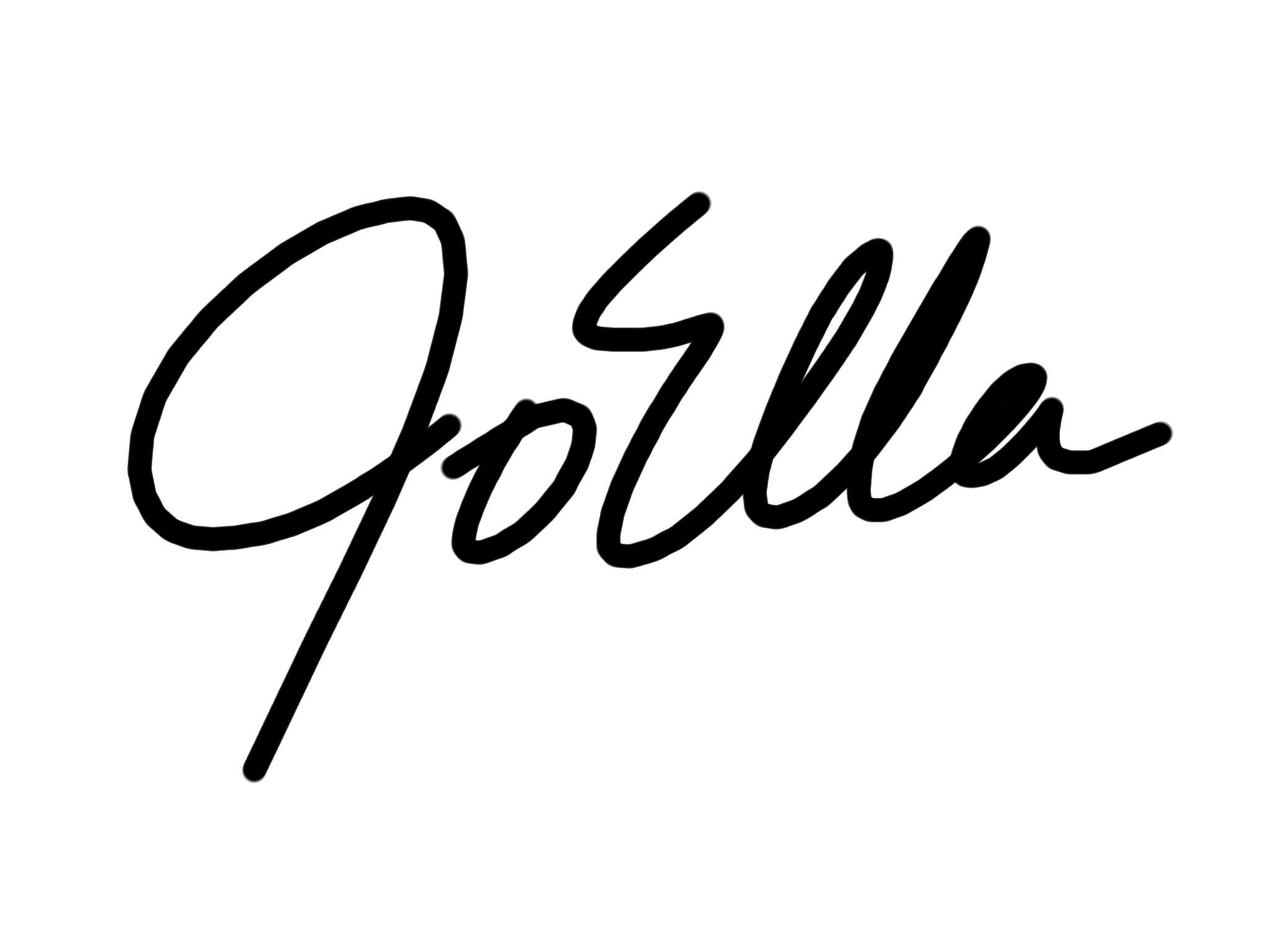 JoElla Mendez Signature