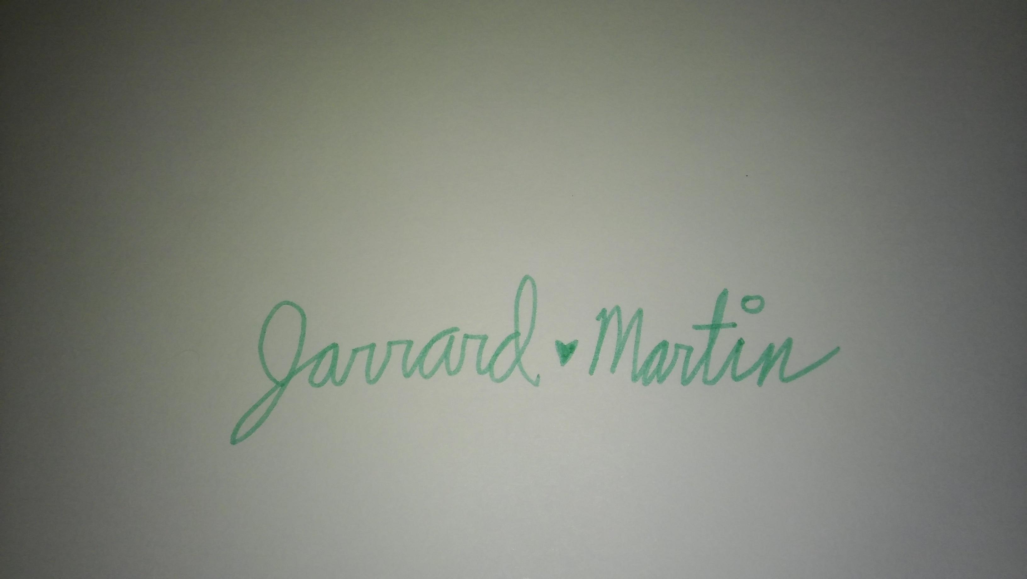 Jarrard Martin Signature