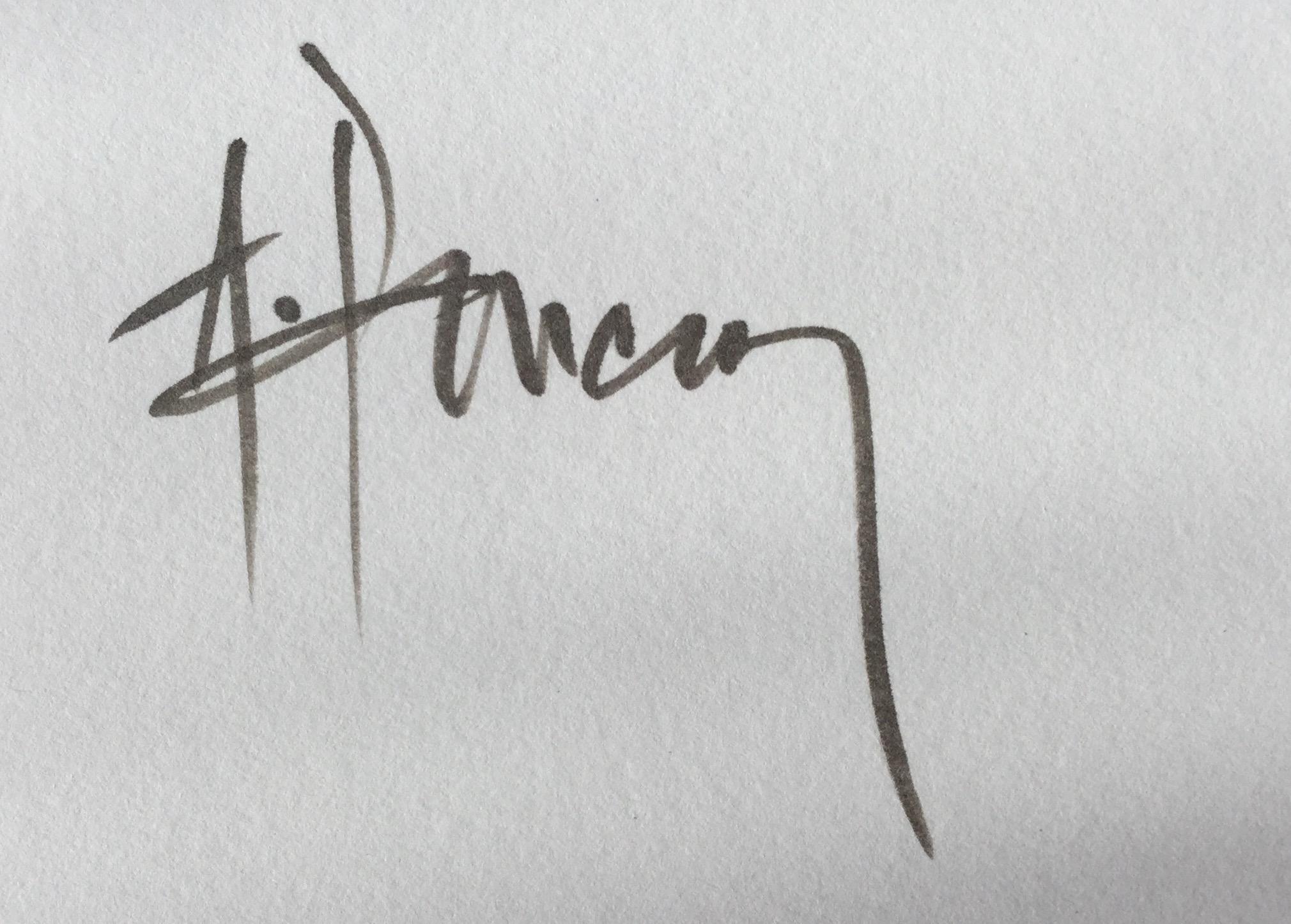 Ales Pancner Signature