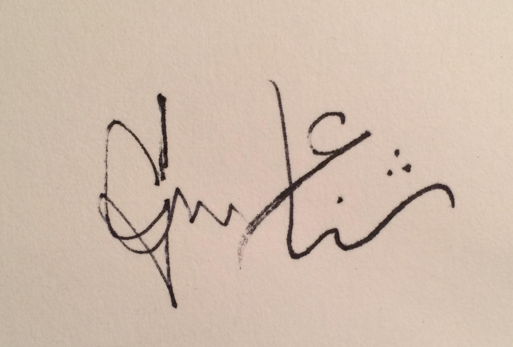 Sana Mirza Signature