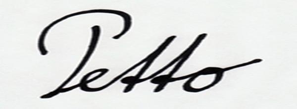 Franz PETTO Signature