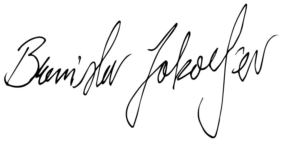 Branislav Jakovljev Signature