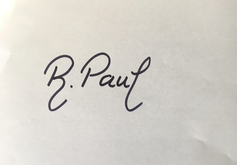 Ruxandra Paul Signature