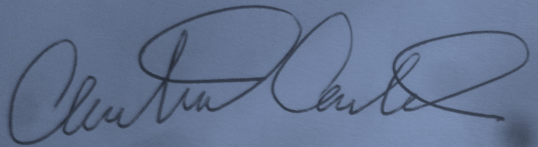 Chris Carter Signature