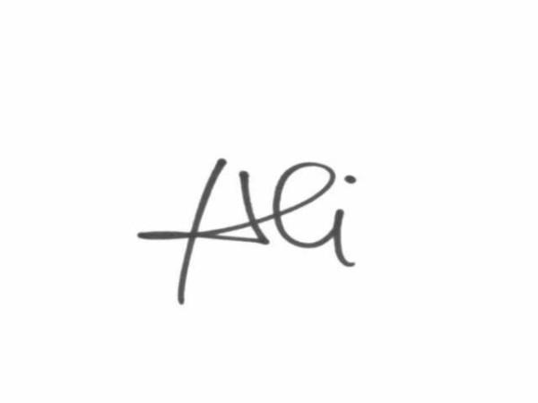 Agneta Covrig Signature