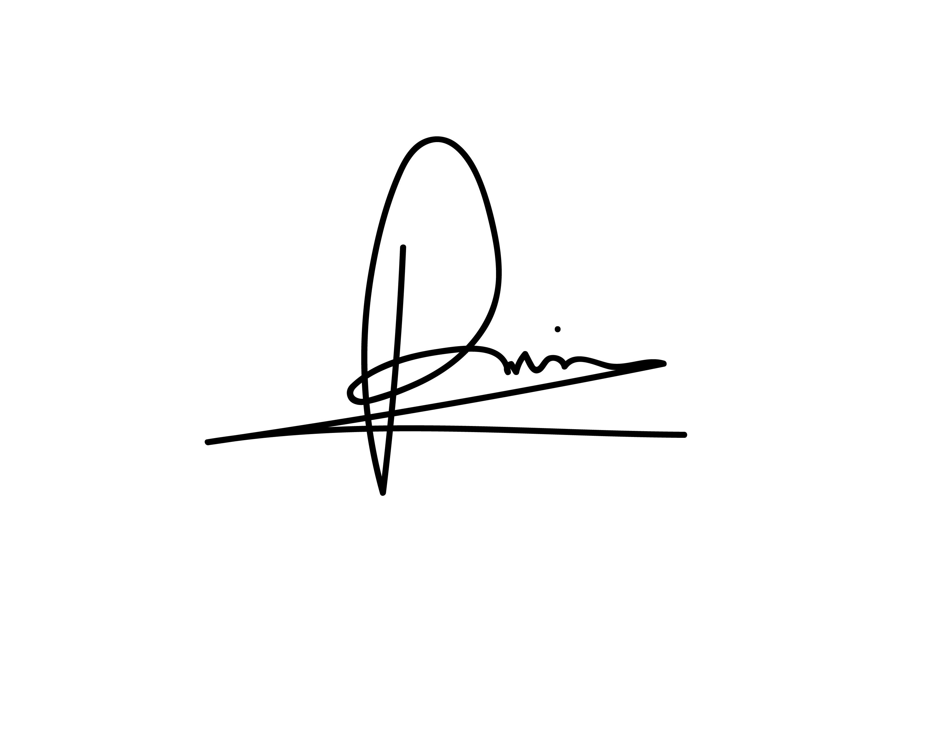 patricia iepure Signature