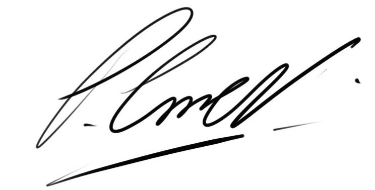 PAUL COVELL Signature
