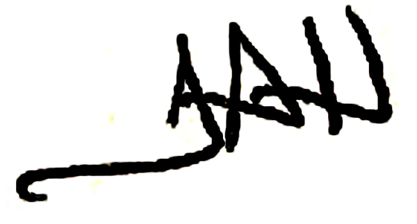 Theresa Husarik Signature