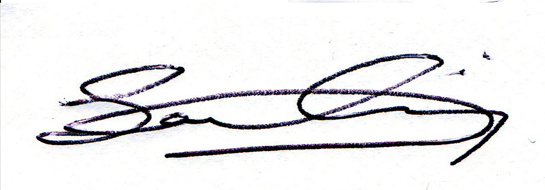 Sanam Nassiri Signature