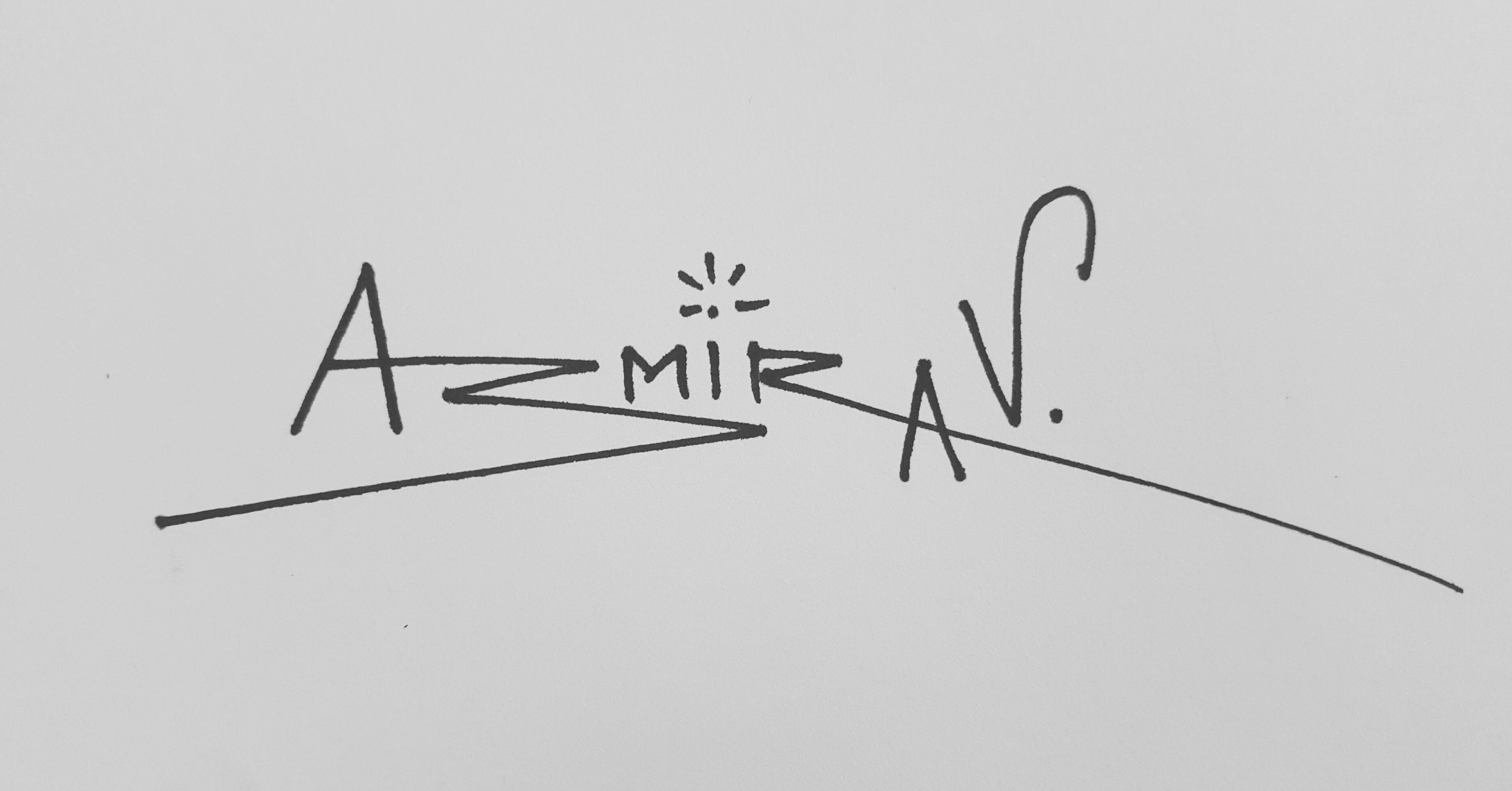 Aastha Asmirav Signature